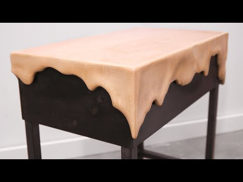 Making Wood Melt — Curly Maple Side Table