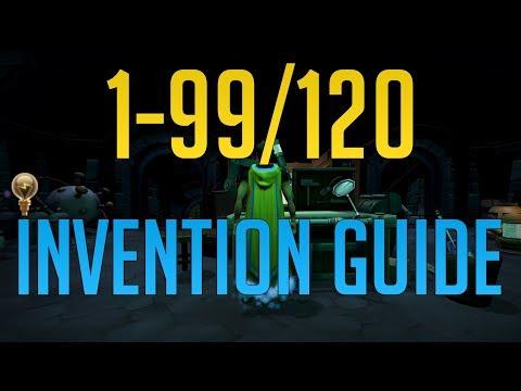 Runescape 3 - 1-99/120 Invention Guide 2019