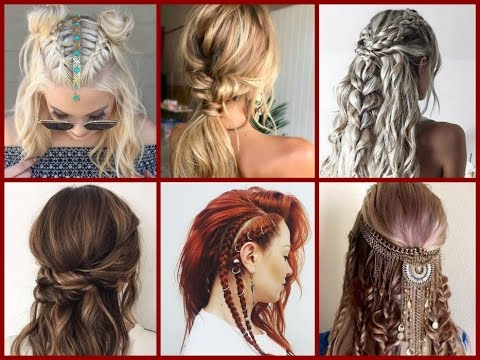 Top 30 Trendy Boho Hairstyles Ideas Bohemian Hairstyles Youtube
