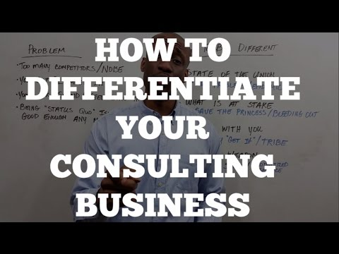 Consulting Business: How to Differentiate