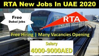 RTA Dubai Jobs 2020- Dubai Govt Roads & Transport Authority |