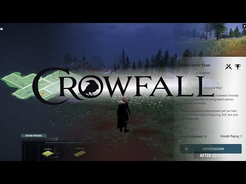 Crowfall News 19.3/[German]/ Die EK World-Builder Tools kommen