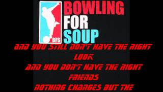 Bowling For Soup---Highschool Never Ends Lyrics