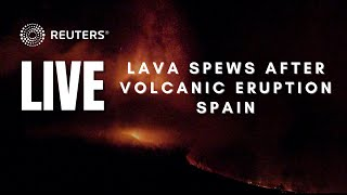 LIVE: Lava spews from volcano on La Palma in Spain's Canary Islands