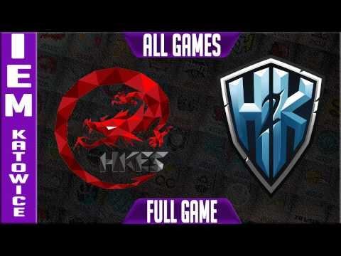 Hong Kong eSports vs H2K Highlights - IEM Katowice 2017 Day 1 - HKES vs H2K