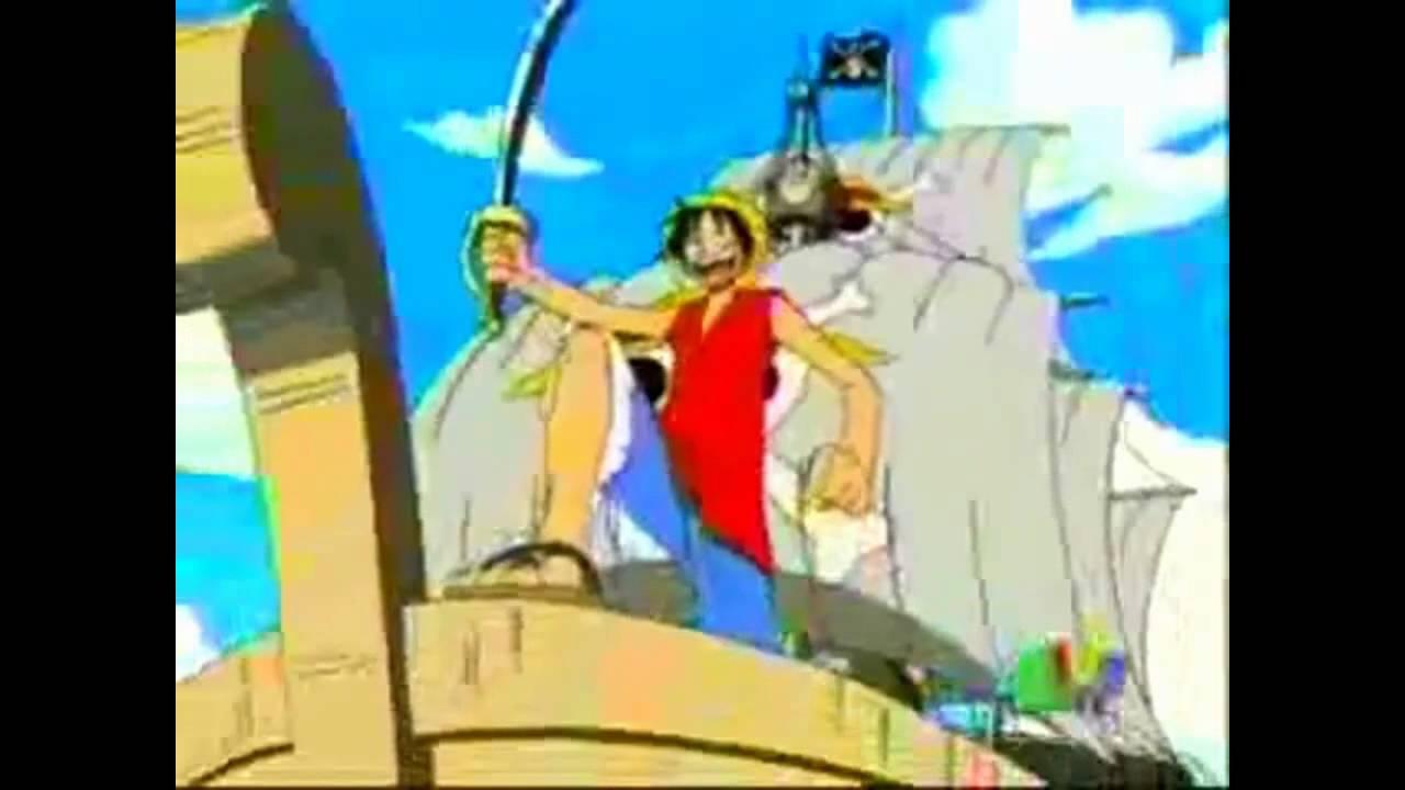One Piece Opening 1 audio latino - YouTube