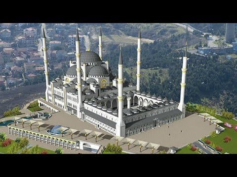 В Турции откроют крупнейшую мечеть в Европе.