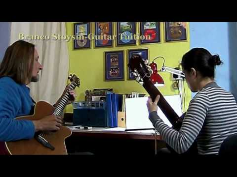 Branco Stoysin 1 to 1 guitar tuition sample.mpg