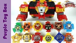 Power Ranger Ninja Force Toys 파워레인저 닌자포스 장난감 총모음 라이언 엠퍼러