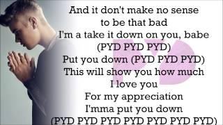 Justin Bieber feat. R. Kelly - PYD (with Lyrics) Video