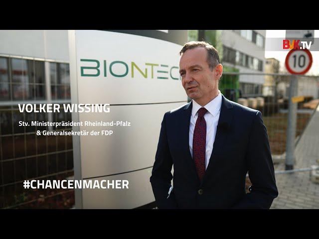 #Chancenmacher: Volker Wissing, Stellvertretender Ministerpräsident Rheinland-Pfalz FDP