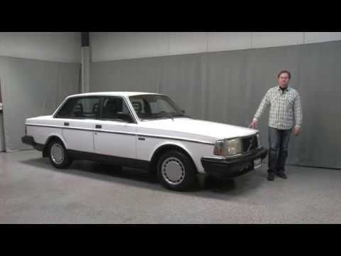 1989 volvo 240 dl sedan midwest auto collection youtube. Black Bedroom Furniture Sets. Home Design Ideas