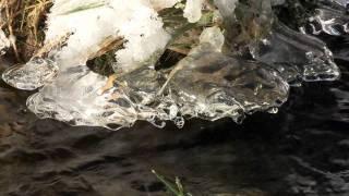 Ardèche - Rivière et glaçons