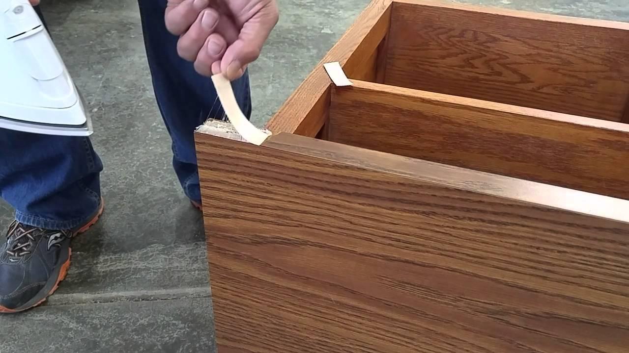 Veneer Edging Repair