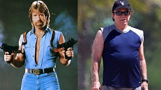 Chuck Norris - Transformation From 1 To 77 Years Old