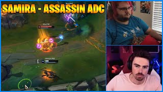 Streamers Play Samira - Assassin ADC...LoL Daily Moments Ep 1115