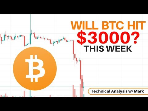 Will Bitcoin Hit $3,000 This Week? Technical Analysis