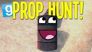 Gmod Prop Hunt! (Get Wrecked!)