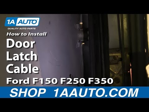 How To Install Replace Door Latch Cable Ford F150 F250 F350 Bronco 80-97 1AAuto.com