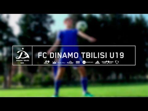 FC Dinamo Tbilisi U19 | Skill Challenge