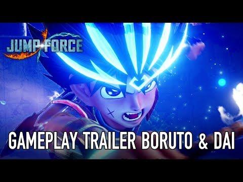 JUMP Force - PS4/XB1/PC - Boruto & Dai (Gameplay Trailer)