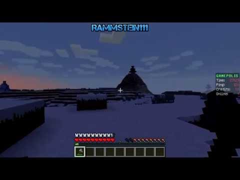 Minecraft. Падал прошлогодний снег...