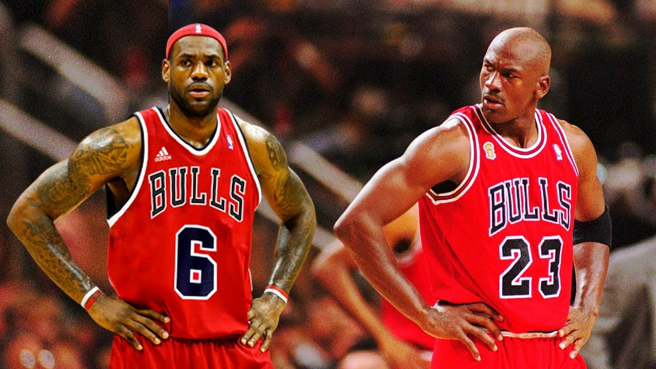 Lebron To Join 97' Bulls