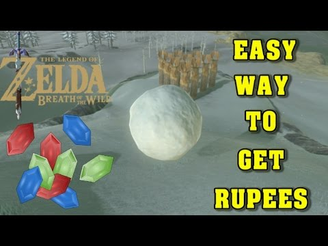 the legend of zelda breath of the wild quick easy way to get rupees youtube. Black Bedroom Furniture Sets. Home Design Ideas