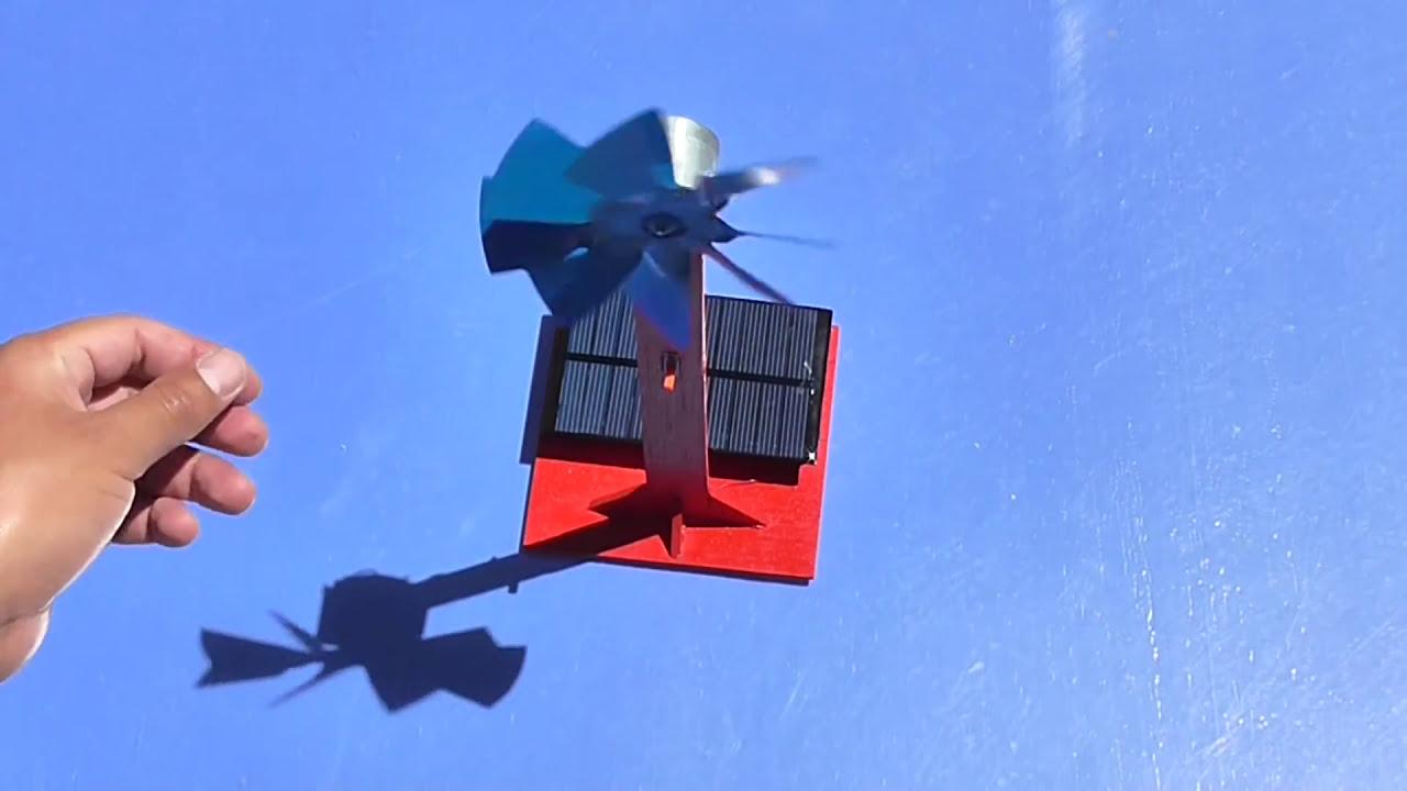 C 243 Mo Hacer Un Ventilador Solar Casero Muy F 225 Cil De Hacer