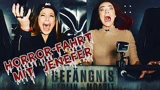 Horror-Fahrt mit Jenefer!!! Wer hat mehr Angst im Berlin Dungeon