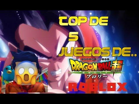 Top De 5 Mejores Juegos De Dragon Ball En Roblox 2019 Youtube