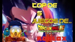 Top of 5 best dragon ball games in roblox 2019