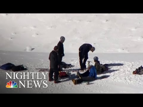 Rescue Underway After Climber Falls On Mount Hood, Others Stranded | NBC Nightly News