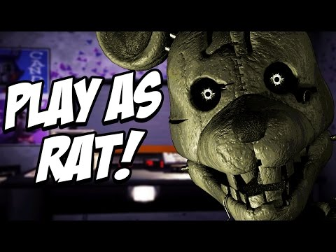 Five Nights at Candys Simulator: Part 2 - PLAY AS RAT AND BLANK! SECRET ANIMATRONIC!
