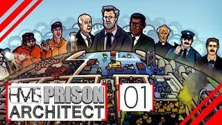 AUF GEHT'S! - Lets Play Prison Architect (STAFFEL 8) | HMS