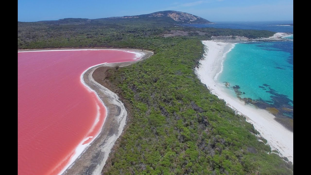 Pink Lake Hillier Middle Island With Esperance Cruises