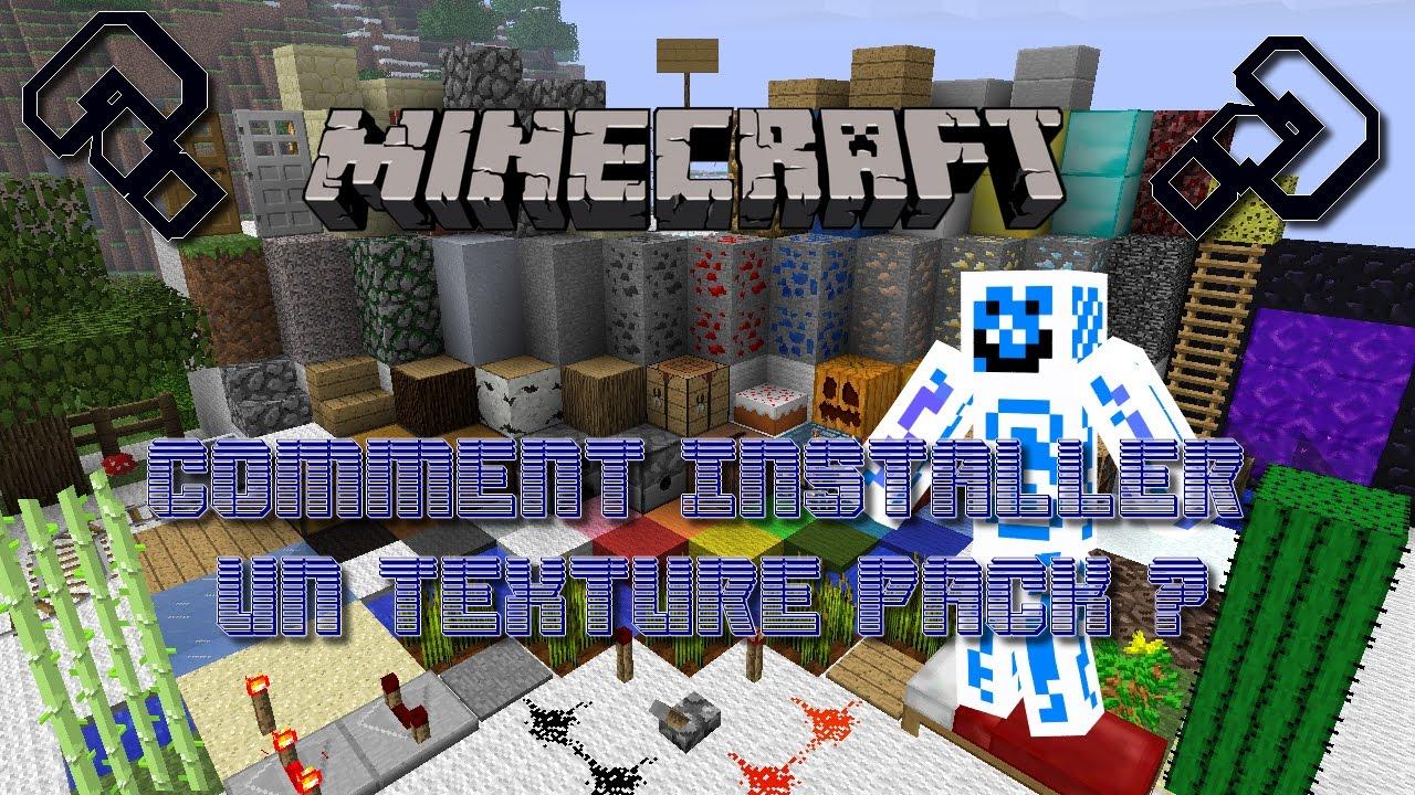 Tuto Minecraft   Comment installer un texture pack ?   SIMPLE ET RAPIDE ! - YouTube