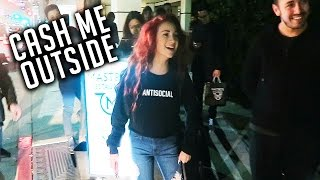 MEETING CASH ME OUTSIDE GIRL AND SHE IS ONLY 13! - (DAY 72)