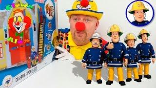 Sam il pompiere Stazione Pompieri con personaggio - Giochi Preziosi Con Alex Giocattoli