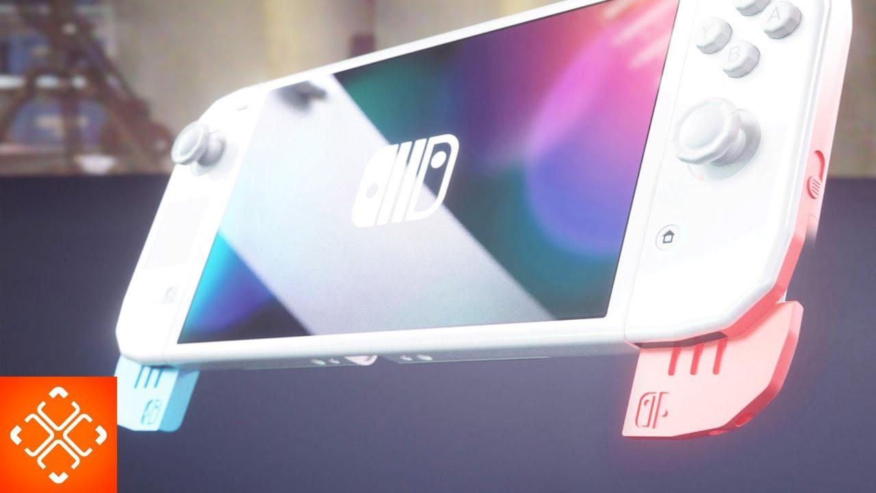 Nintendo Switch Pro 2020 Patent Leaks Revealed Youtube