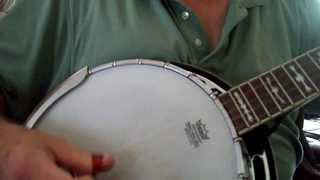 """Amazing Grace"" Bluegrass Gospel Song Mountain Banjo Picking"