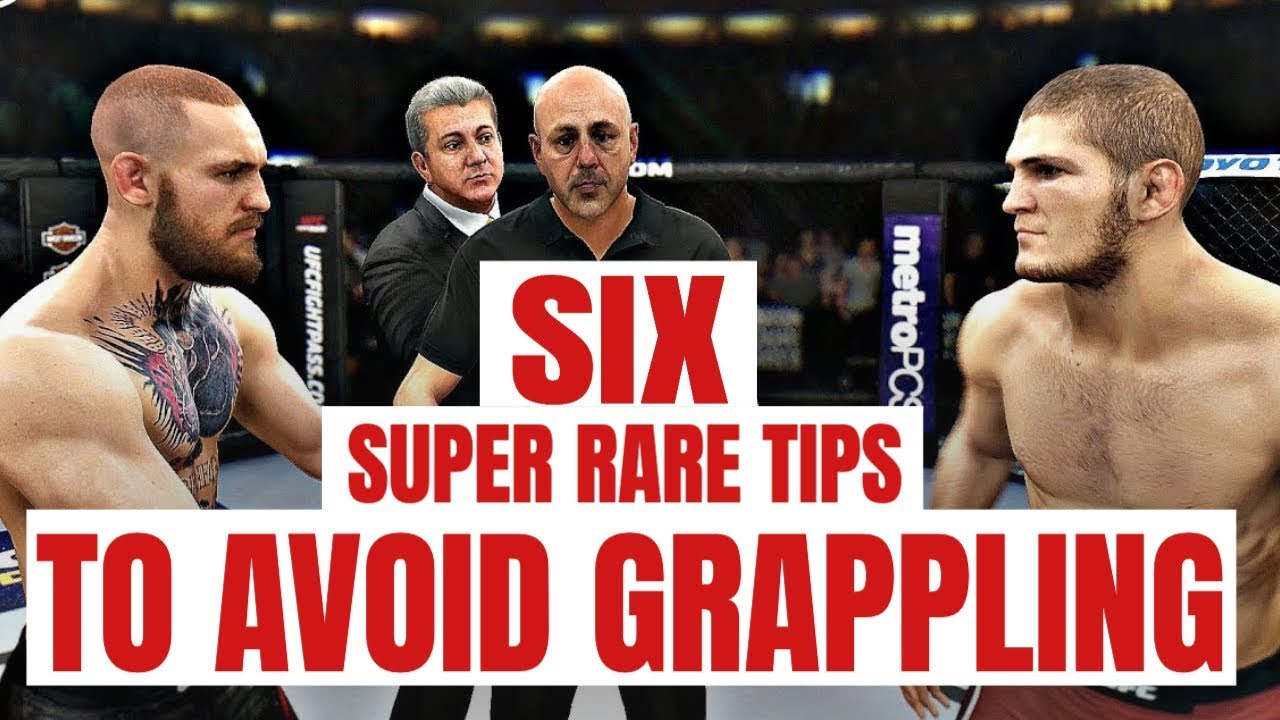 6 Super Rare Tips To Avoid Grappling In Ea Ufc 3 Ufc 3 Tips And Tricks Youtube