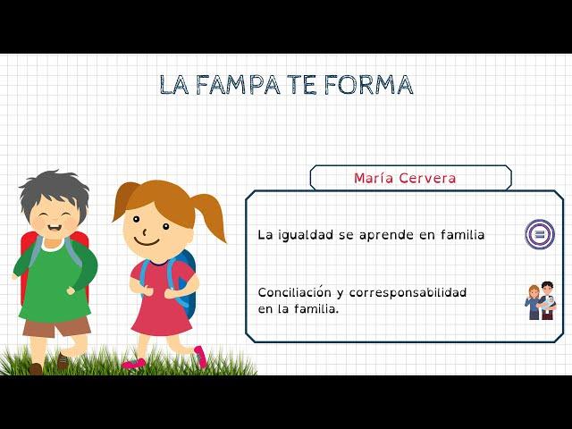 Formació FAMPA: María Cervera (especialista en igualtat)