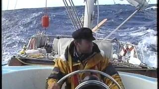 Cape town to St Helena sailing through south atlanic after major storm