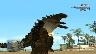 "MisteriX. - Grand Theft Auto San Andreas ""Godzilla"" (Odcinek 22) [HD] [ENG SUBTITLES]"