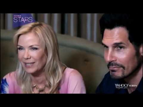 B&B 2014 DUBAI INTERVIEW RIDGE BROOKE BILL Bold Beautiful Wedding Katherine Kelly Lang Promo 5-16-14