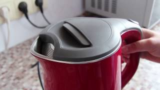 Чайник красный GALAXY обзор видео