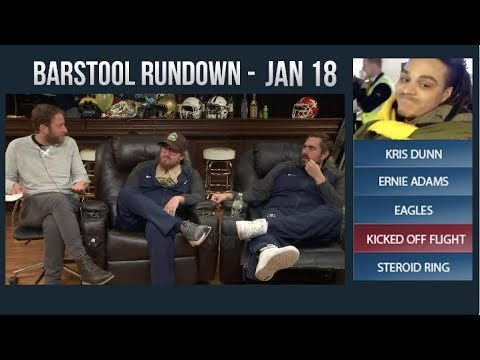 Barstool Rundown - January 18, 2018