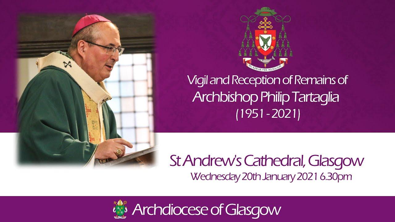 The Reception of the Mortal Remains of Archbishop Philip Tartaglia