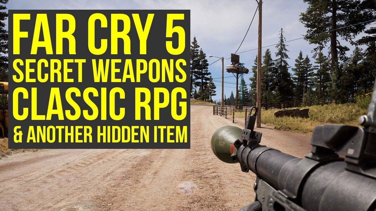 Far Cry 5 Secret Weapons Jacobs Pistol How To Get It Far Cry 5 Secret Far Cry 5 Hidden Weapons Youtube